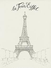 everyday artist france sketchbook eiffel tower step by step