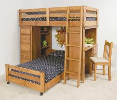 wooden loft bunk bed with desk strange wood bunk bed with desk bedroom design combo as furniture