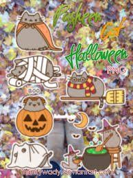 cat halloween background images pusheen cat halloween wallpaper image gallery hcpr