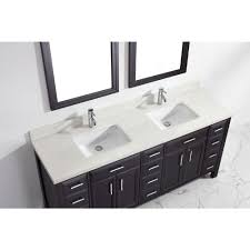 calais 75 inch transitional double sink bathroom vanity espresso