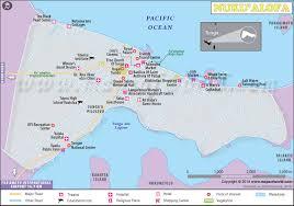 tonga map nuku alofa map map of nuku alofa city tonga