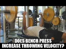 Proper Benching Studies Prove Bench Press Increases Throwing Velocity Increase