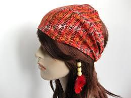 bandana hippie island wrap mediterranean design headband women s dreadband