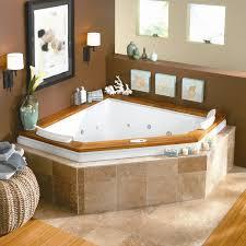 innovative modern bathroom ideas for corner bathtub design with in
