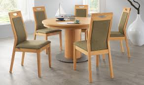Modern Round Dining Table by Et558 Extendable Round Dining Table Venjakob