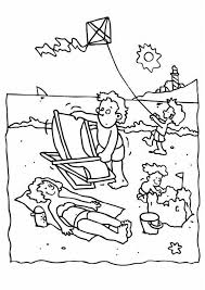 summer vacation coloring pages summer time coloring pages coloring home