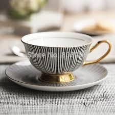 Fancy Coffee Cups   2018 bone china tea upscale coffee mugs ceramic coffee cup and