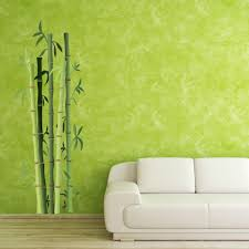 wall decal stickers style and apply bamboo bushes wall decal