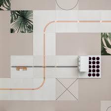 flavor paper and um project u0027s u0027conduct u0027 wallpaper doubles as a