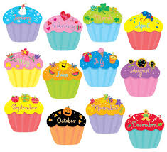 amazon com creative teaching press cupcakes 6 inch designer cut