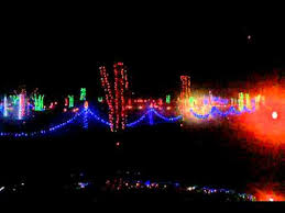 yogi bear christmas lights christmas light show yogi bear park nashville tn youtube