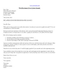 Programmers Resume Php Web Developer Cover Letter Family Support Officer Cover Letter
