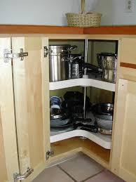 Corner Kitchen Wall Cabinet by Corner Kitchen Cabinet Organization Ideas Amys Office