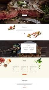 restaurant joomla food template for bar grill gavickpro