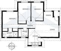 1 Bedroom Cottage Floor Plans South African 3 Bedroom House Floor Plans Savae Org
