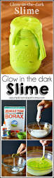 glow in the dark halloween party ideas homemade glow in the dark slime recipe a pumpkin and a princess