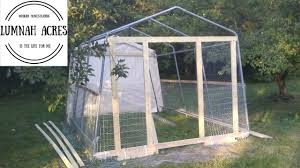 Greenhouse Gazebo Diy Green House And A Chicken Coop Part 1 Youtube