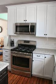 kitchen gorgeous white shaker kitchen cabinets hardware