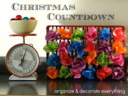 diy christmas countdown 8 1 made with toilet paper rolls tissue