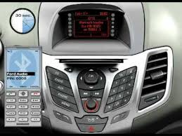 how to set up bluetooth on ford focus ford mobile phone connection