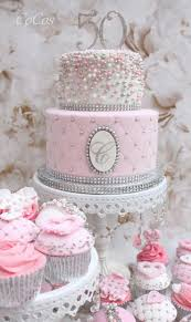 Pretty Pink Cake And Cupcakes By Lynette Brandl Wedding