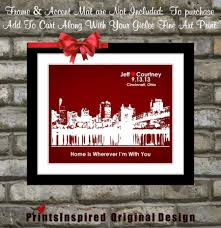 wedding gift to husband any hometown skyline most popular wedding gifts for fiance