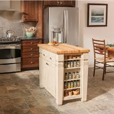 butcher block portable kitchen island jeffrey loft kitchen island with maple edge grain