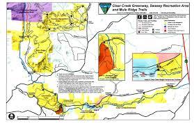 Redding California Map Clear Creek Trail U2022 Hiking U2022 California