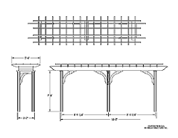 Trellis Structures Pergolas Eliminate Surprises And Visualize Results With Custom Models