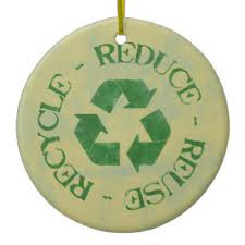 recycling symbol ornaments keepsake ornaments zazzle