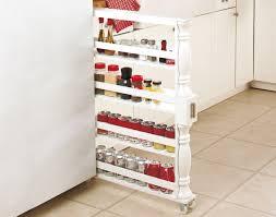 kitchen spice storage ideas awesome slim kitchen storage