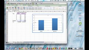 excel for mac 2016 creating a vertical bar graph histogram you