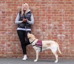 Hearing Dogs for Deaf People Lisa and hearing dog Kelly