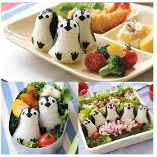cuisine bento cuisine mignon pingouin sushi maker moule sandwich riz balle moule