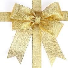 gold ribbons 1pcs 25 yard organza glitter ribbons for wedding craft bow