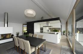 cuisine salle à manger salon cuisine salle a manger ouverte idées décoration intérieure