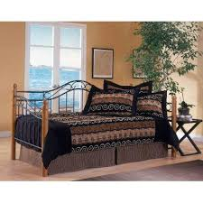Black Daybed With Trundle Winsloh Oak U0026 Black Daybed With Trundle Rc Willey Furniture Store