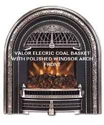 Electric Fireplace Insert Valor Windsor Arch Electric Fireplace