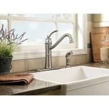 high arch kitchen faucet shop moen edison mediterranean bronze 1 handle high arc kitchen