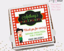 personalized pizza boxes mini pizza box etsy