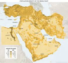Middle East Country Map the middle east the way it is and why this week in geopolitics