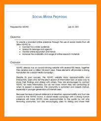 social media proposal template download social media proposal