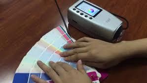 fru digital portable colorimeter color reader paint color meter