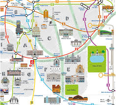 Metro Madrid Map by Daily Rental Apartments In Madrid Retiro And Salamanca La Llave