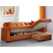 amazon com kubo rainbow orange sectional sofa kitchen u0026 dining