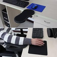 Laptop Desk Arm Ergonomic Arm Wrist Rest Support Armrest Desk Extender