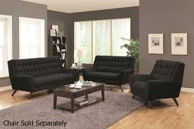 Black Sofa Set Designs Black Sofa And Loveseat Set Sofas
