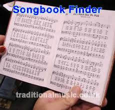 songbook and tune book finder home page