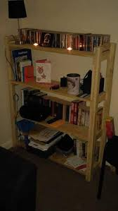 Build Wooden Bookcase by Build A Pallet Bookcase Bookshelves