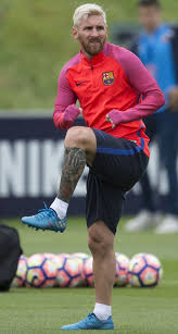 Lionel Messi Leg Lionel Messi Shows Black Ink Work On His Magical Left